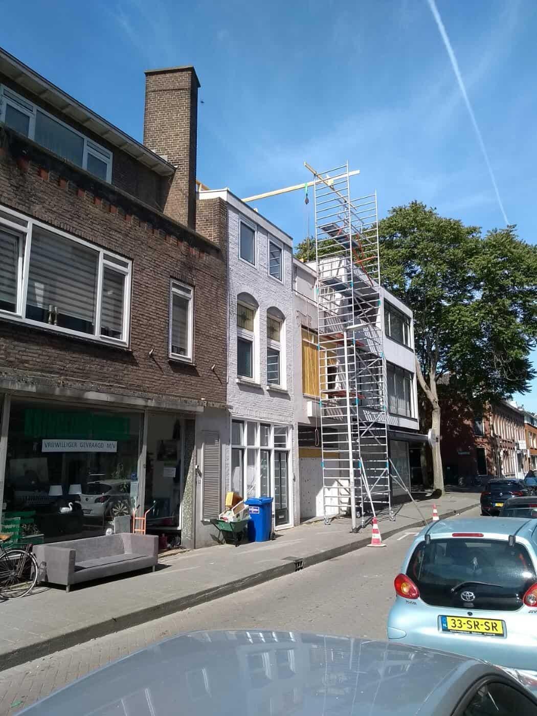 Nieuwe houten kozijnen woonhuis Rotterdam
